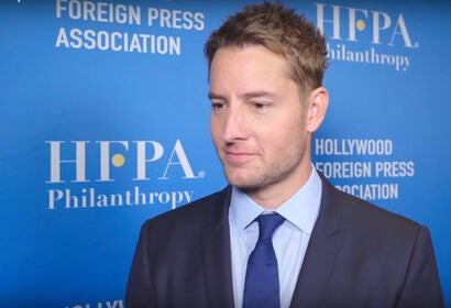 Justin Hartley - HFPA Grants Presenters 2019