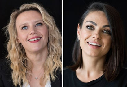 Kate McKinnon and Mila Kunis