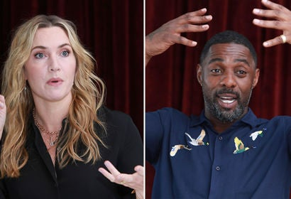 Kate Winslet and Idris Elba