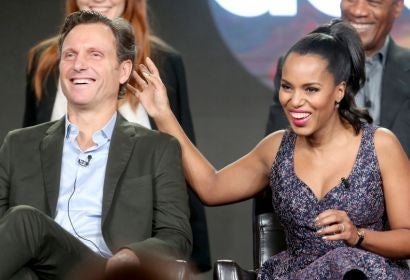 Tony Goldwyn and Kerry Washington at Paleyfest 2017