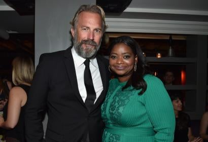 Kevin Costner and Octavia Spencer