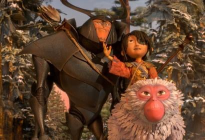Scene from Kubo and the Two Strings