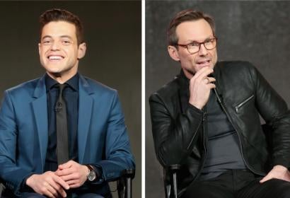 "Rami Malek and Christian Slater on ""Mr. Robot"" 2.0"