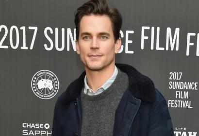 Matt Bomer at the 2017 Sundance Film Festival