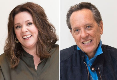 Melissa McCarthy and Richard E. Grant