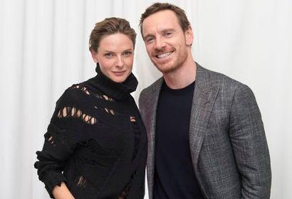 Rebecca Ferguson and Michael Fassbender