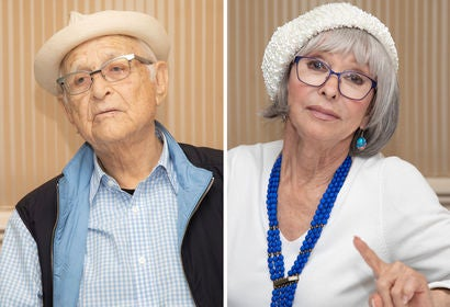 Norman Lear and Rita Moreno
