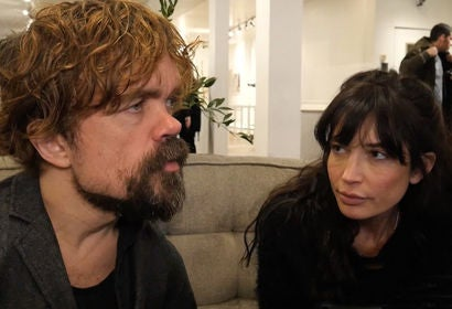 Peter Dinklage and Reed Morano