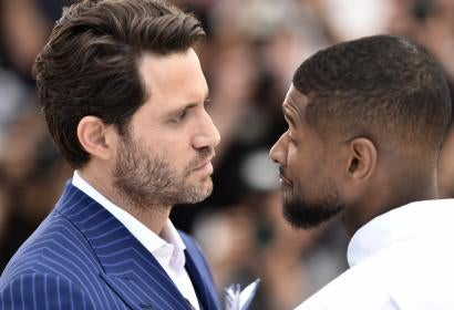 Edgar Ramírez  and Usher