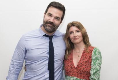 Rob Delaney and Sharon Horgan