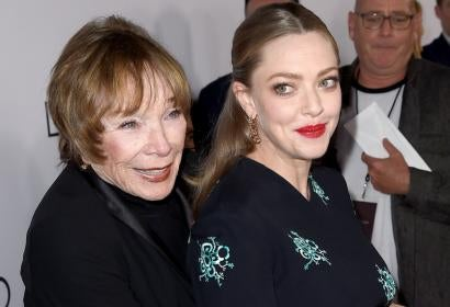 Shirley MacLaine and Amanda Seyfried