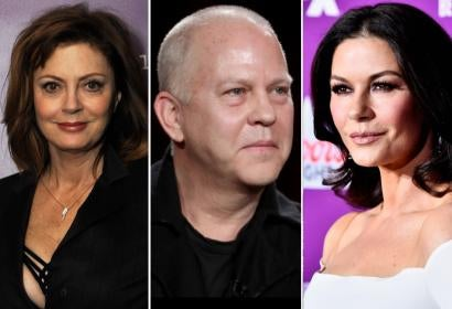 Susan Sarandon, Ryan Murphy and Catherine Zeta-Jones