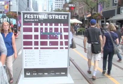 TIFF 2016 Street view of festival goers