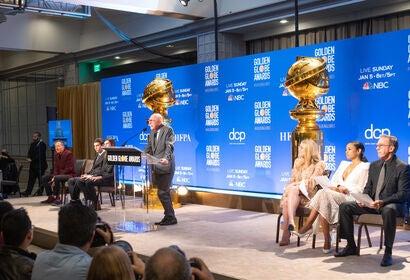 77th Golden Globe Nominations Announcement