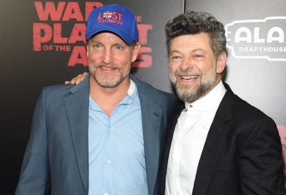 Woody Harrelson and Andy Serkis