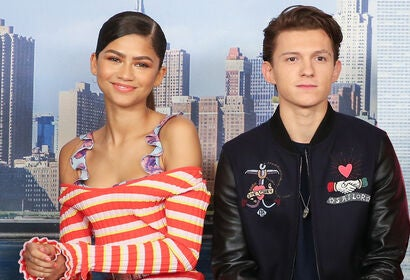 Zendaya and Tom Holland