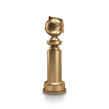 New Golden Globe Trophy Rendering