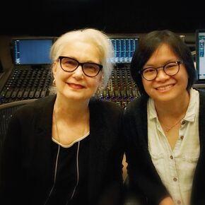 Sound editors Mildred Iatrou Morgan and Ai_Ling Lee