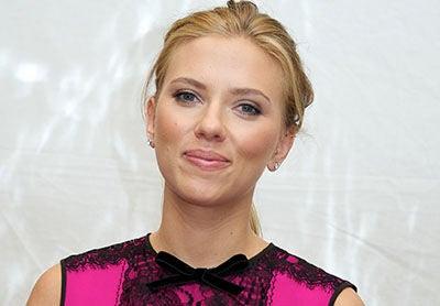 Scarlett Johansson Golden Globes