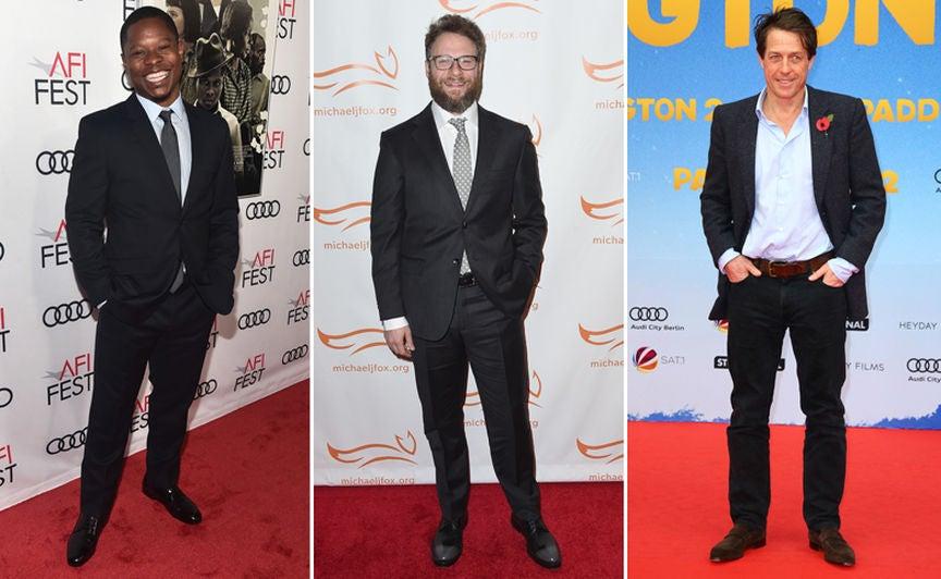 Jason Mitchell, Seth Rogan and Hugh Grant