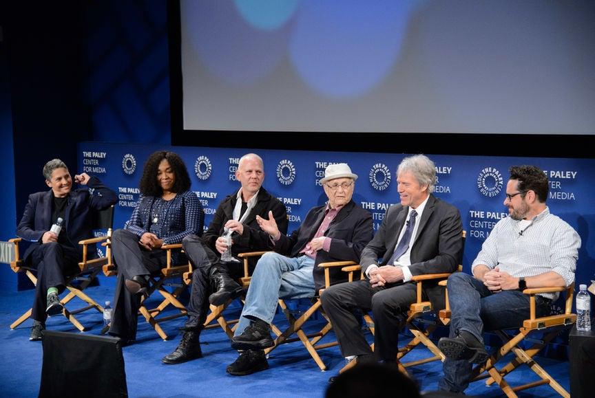 Writer-Producers Shonda Rhimes, Jill Soloway, David E. Kelley, Norman Lear, Ryan Murphy and J. J. Ab