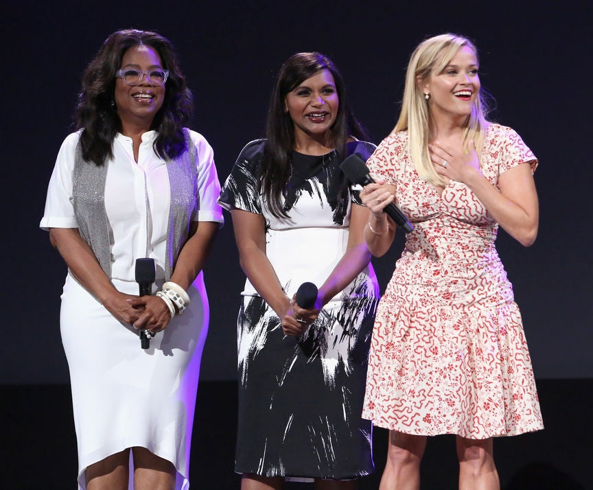 OPrah, Reese Withserpoon and Mindy Kaling, D23, 2017