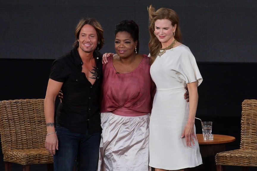 Oprah in Sydney with Nicole Kidman and Keith Urban