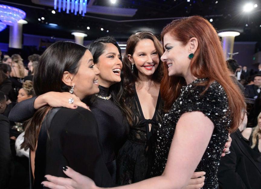 Eva Longoria, Salma Hayek, Ashley Judd and Debra Messing