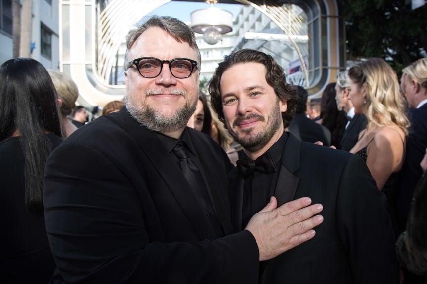 Guillermo del Toro and EDgar Wright