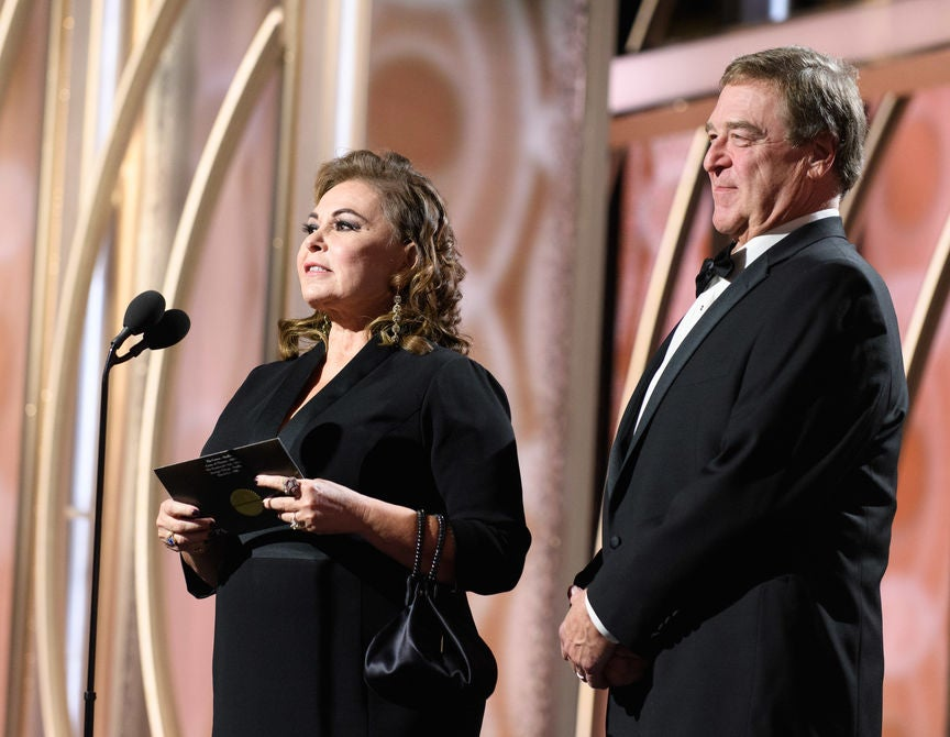 Roseanne Barr and JOo