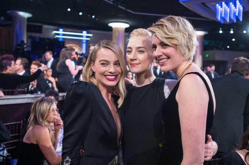 MargotRobbie, Saorsie Ronan and Greta Gerwig