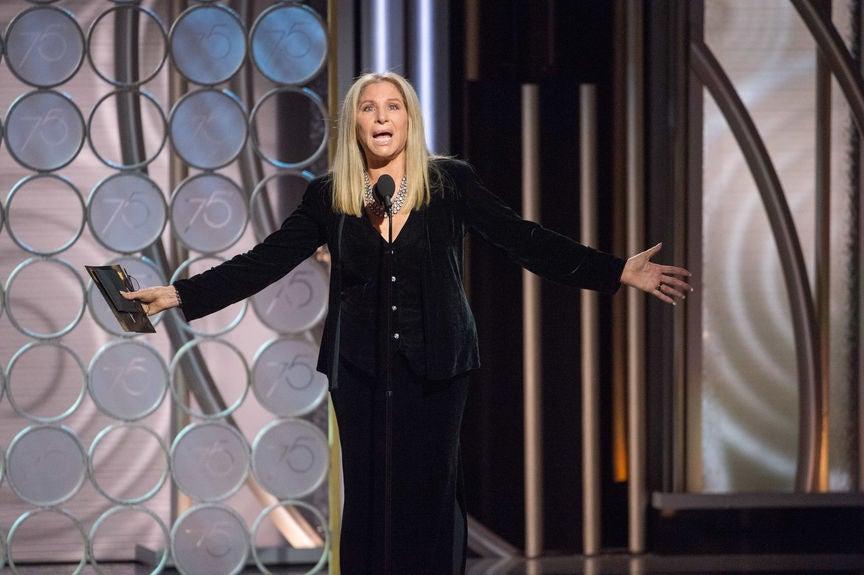 Barbra Streisand, Golden Globe winner