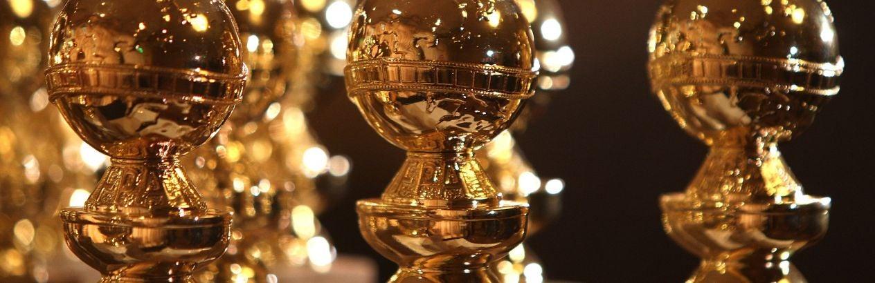 Golden Globe trophies