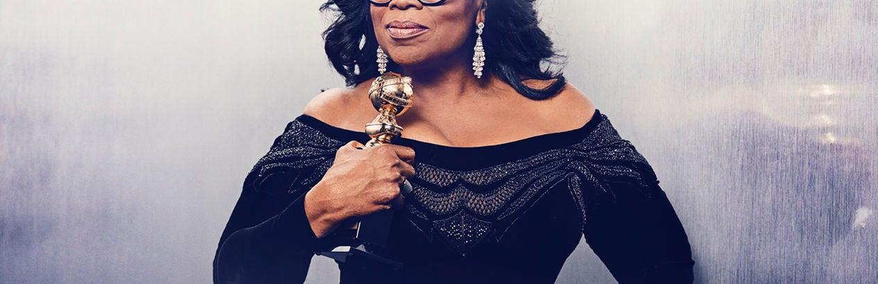 Oprah Winfrey, Cecil B deMille 2018