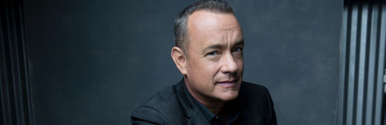 Actor, director and producer Tom Hanks, Golden Globe winner, Cecil B. deMille recipient