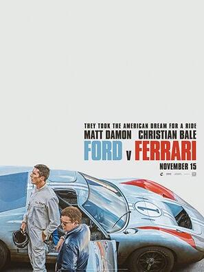 Ford V Ferrari Golden Globes