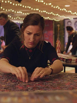 """Kelly Macdonald in """"Puzzle"""" (2018)"""