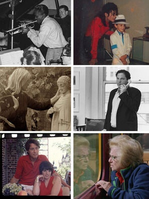 """Scenes from """"Miles Davis: Birth of the Cool"""", """"Leaving Neverland"""", """"Marianne & Leonard: Words of Love"""", """"Untouchable"""", """"Halston"""" and """"Ask Dr. Ruth"""""""