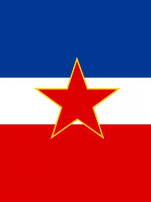 Flag of Yugoslovia
