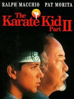 Karate Kid part 2 poster