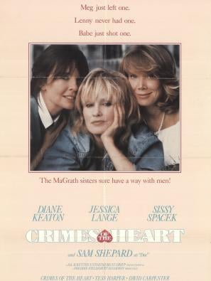 Crimes of the Heart, Golden Globe nominee