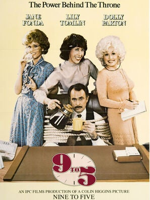 Nine to Five movie poster