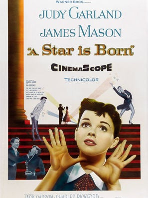 A Star is Born (1954) movie poster