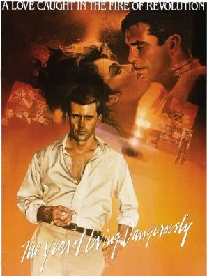 A Year of Living Dangerously movie poster
