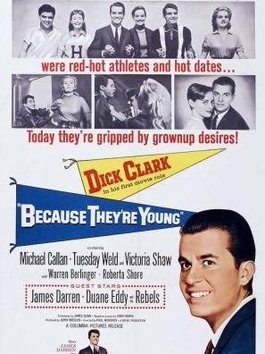 Because They're Young movie poster