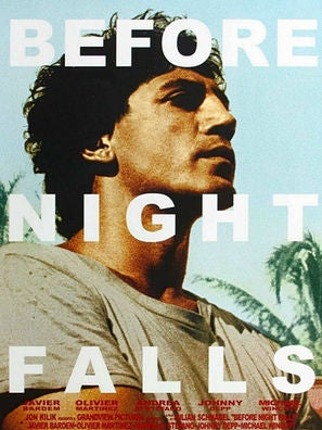 Before Night Falls movie poster