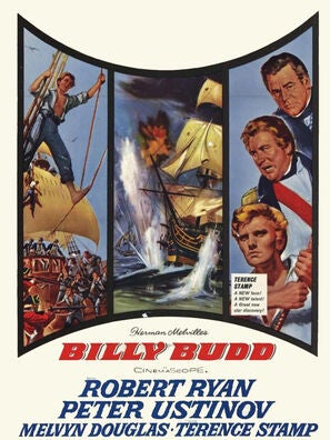 Billy Budd movie poster