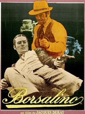 Borsalino movie poster