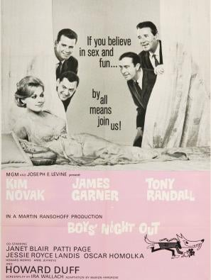 Boys' Night Out movie poster