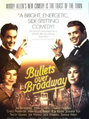 Bullets Over Broadway movie poster